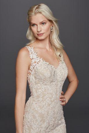 Trumpet Lace Wedding Dresses Style