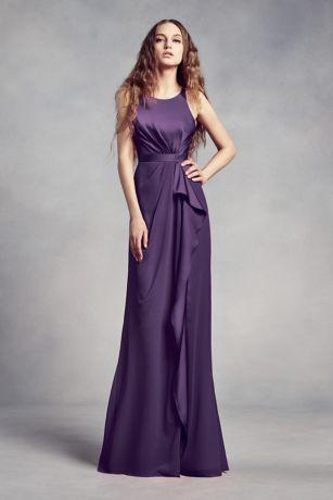 David S Bridal Purple Bridesmaid Dress Gowns And Ideas