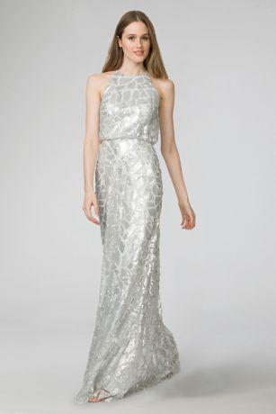 Tiffany Sequined Bridesmaid Dress | David\'s Bridal