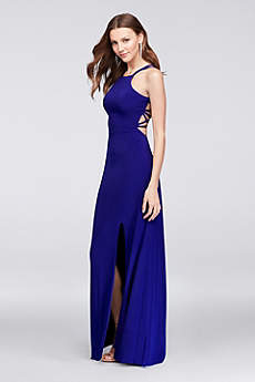 Long Sheath Spaghetti Strap Formal Dresses Dress - Morgan and Co