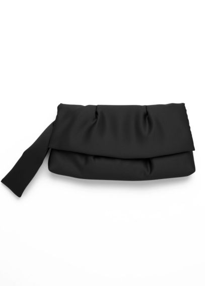 Pleated Satin Wristlet HBPRECIOUS