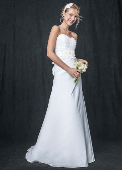 Taffeta A Line Gown with Sweetheart Neckline AI10042871