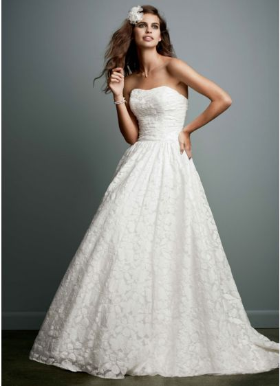 Long Ballgown Wedding Dress -
