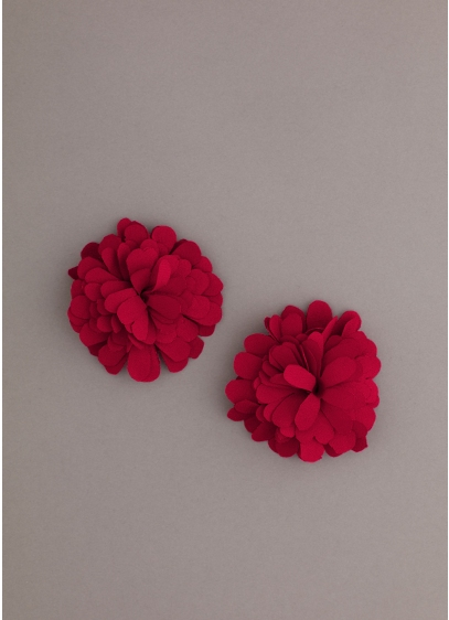 Flower Pouf Shoe Clip - Wedding Accessories