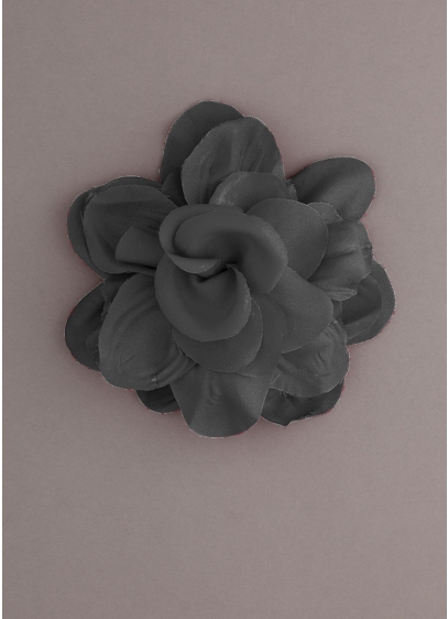 Fabric Flower Pin - Wedding Accessories