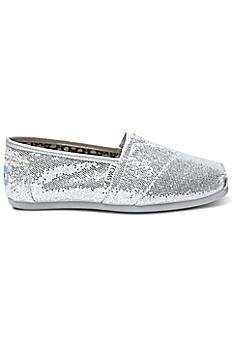 TOMS Glitter Classic Slip-On Shoes 001013B07