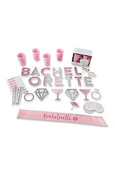 74 Piece Glitter Bachelorette Party Kit 00120NA