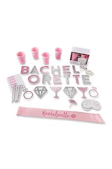 74 Piece Glitter Bachelorette Party Kit