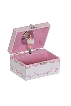 Clarice Girl's Musical Ballerina Jewelry Box 00803S16