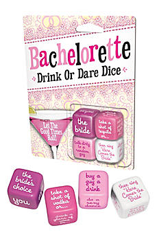 Bachelorette Party Dice Game 02088