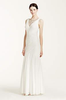 Long Mermaid/ Trumpet Beach Wedding Dress - DB Studio