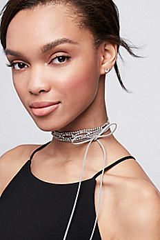 Wide Stone Wrap Choker 082308