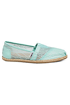 TOMS Mint Lace Rope Classic Slip-On Shoe 10008343