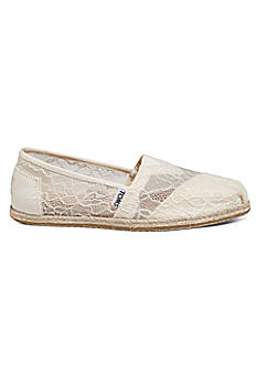 TOMS Lace Rope Classic Slip-On Shoe 10008347