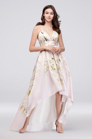 Long formal dresses white
