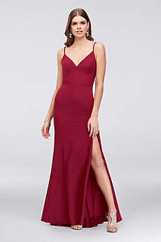 Long Sheath Spaghetti Strap Formal Dresses Dress - Jump