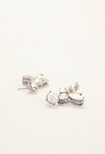 Multi Stone Dangle Earrings 1104407ABSL