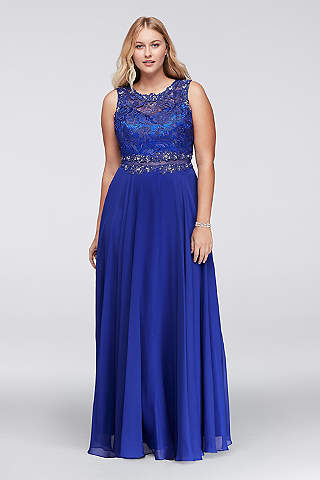 Royal Blue Prom Dresses &amp- Gowns - David&-39-s Bridal