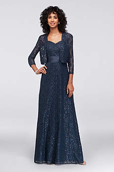 Long 3/4 Sleeves Formal Dresses Dress - Alex Evenings
