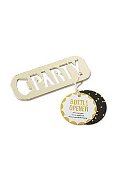 Gold Party Bottle Opener 11291NA
