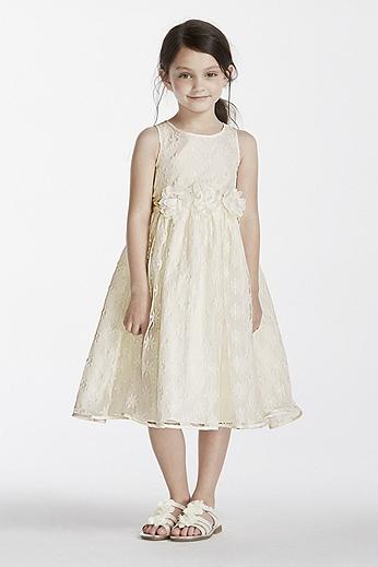 Floral Organza Tank Ball Gown 1150494