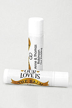 Personalized Wedding Favor Lip Balms 1168003DB