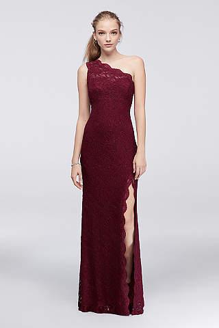 Red Prom Dresses: Long &amp- Short Lengths - David&-39-s Bridal