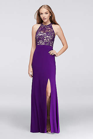 Purple Prom Dresses: Short &amp Long Lengths  David&39s Bridal