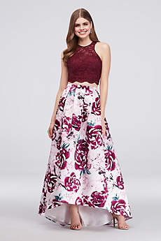 Long Ballgown Halter Formal Dresses Dress - Morgan and Co