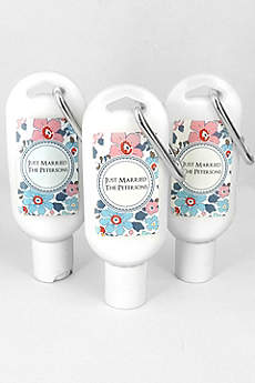 Personalized Floral Pattern Sunscreen