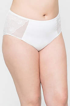 Curvy Couture Embroidered Panty