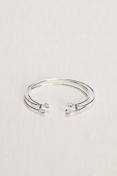 Set of Crystal Cuffs Bracelets 1301686MSIL