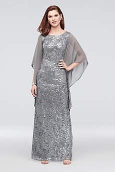 Long A-Line Long Sleeves Formal Dresses Dress - Le Bos