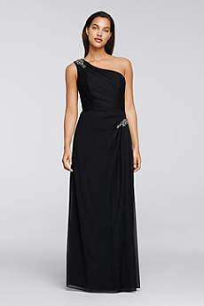 Long Sheath One Shoulder Mother and Special Guest Dress - Alex Evenings