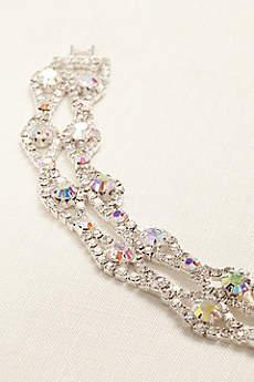 Iridescent Multi-Color Lattice Bracelet