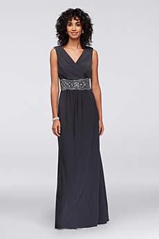 Long Ballgown Short Sleeves Formal Dresses Dress - Alex Evenings