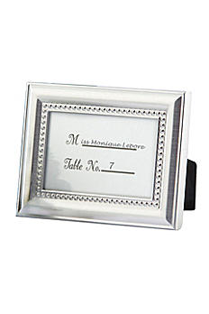 Elegant Beaded Photo Frame/Placecard Holder 14013NA