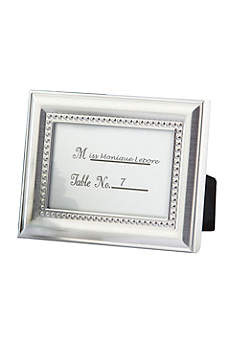Elegant Beaded Photo Frame/Placecard Holder
