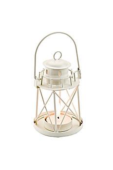 By the Sea Lighthouse Tea Light Holder 14037WT