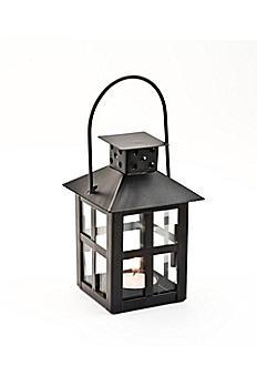 Black Mini-Lantern Tea Light Holder 14048BK