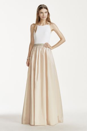 Casual long dress for wedding