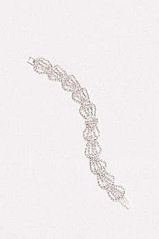 Rhinestone Bow Bracelet 147583B
