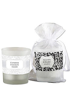 Personalized Frosted Glass Votive 15020NA