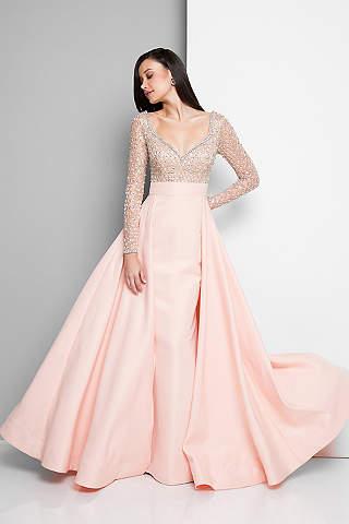 Long Ballgown Sleeves Formal Dresses Dress