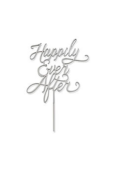 Classic Happily Ever After Cake Topper 18090NA