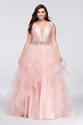 Plus size quinceanera dresses 2018