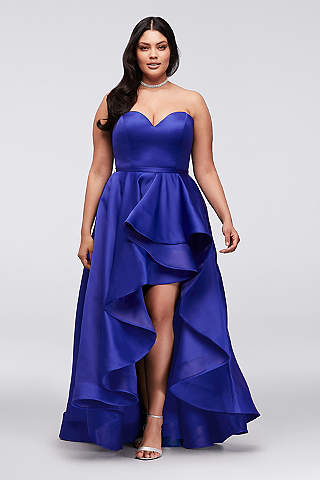 Plus size evening dresses cheap