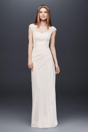 Keyhole Lace Wedding Dress Davids Bridal weddings dresses