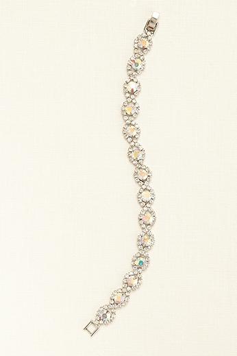 Circle Crystal Line Bracelet 212675