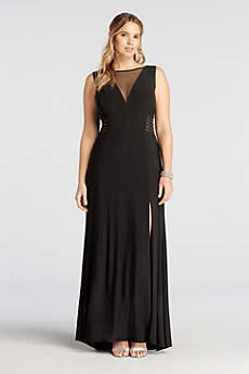 Long A-Line Tank Formal Dresses Dress - Morgan and Co